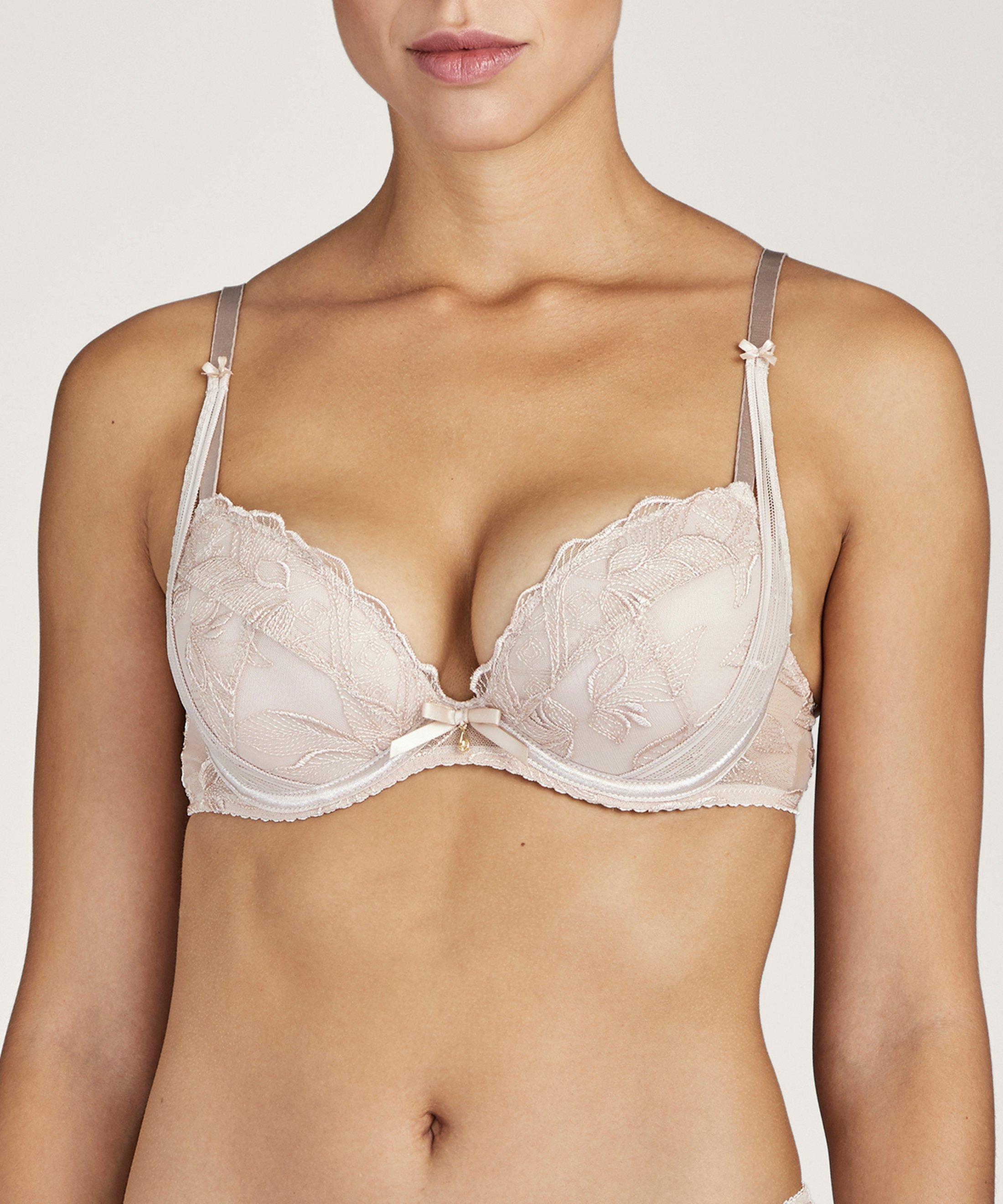FLEUR DE TATTOO Soutien-gorge push-up Nude Skin | Aubade