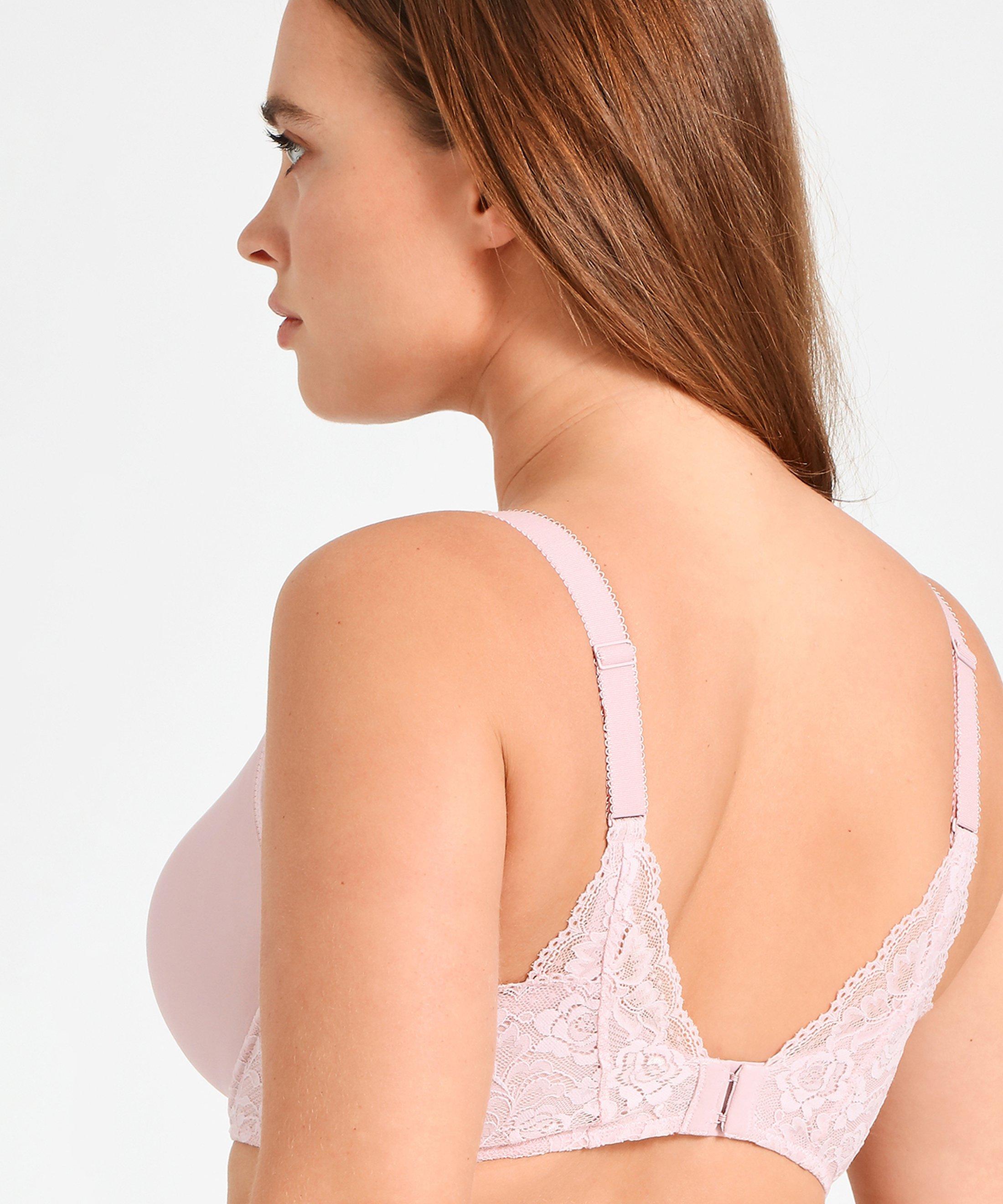 ROSESSENCE Tee shirt bra Powder Pink | Aubade